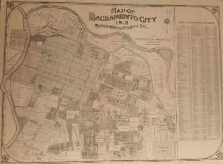 1913 Map