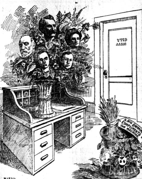 Cartoon - Municipal League Wins - 5-20-1912