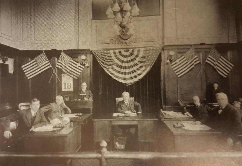 Commission Chambers - 1917