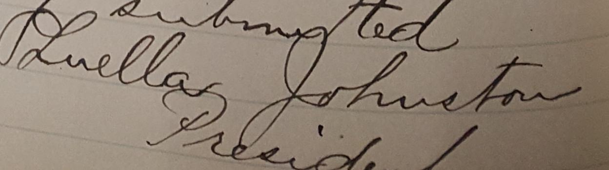 Johnston Signature