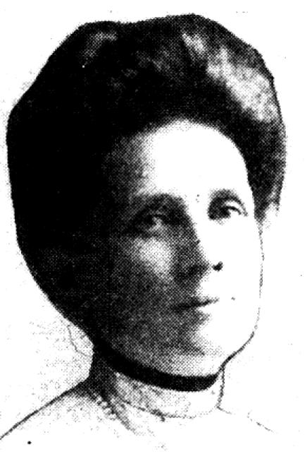 Luella Headshot circa 1912 - from Sac Union 1948 article