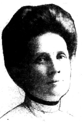 Luella Headshot circa 1912 - from Sac Union 1948 article