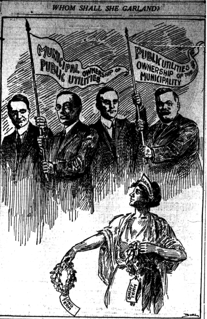 Sac Bee - 1914 - Cartoon