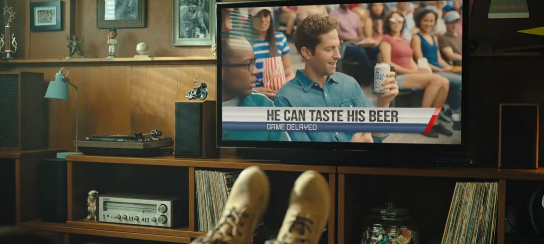 I can taste my beer